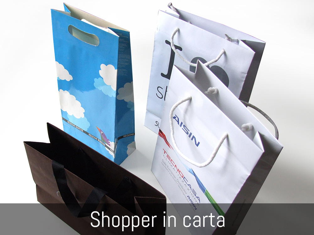 Shopper in carta
